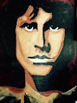 Jim Morrison - Eyes on the wall
