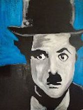 Charlie Chaplin - Eyes on the wall