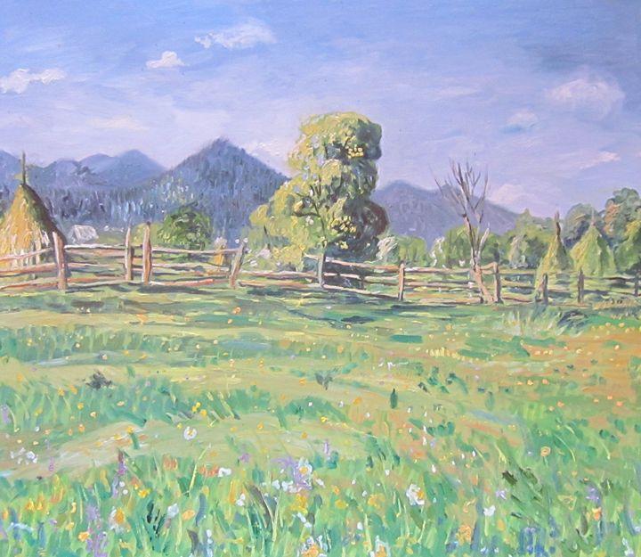 romanian landscape - Iuliana Ciofu
