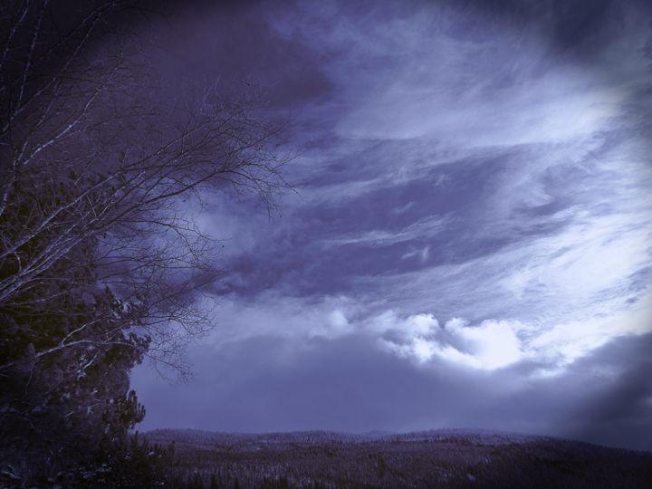 Through A Ravens Eye - Redfisherstudio