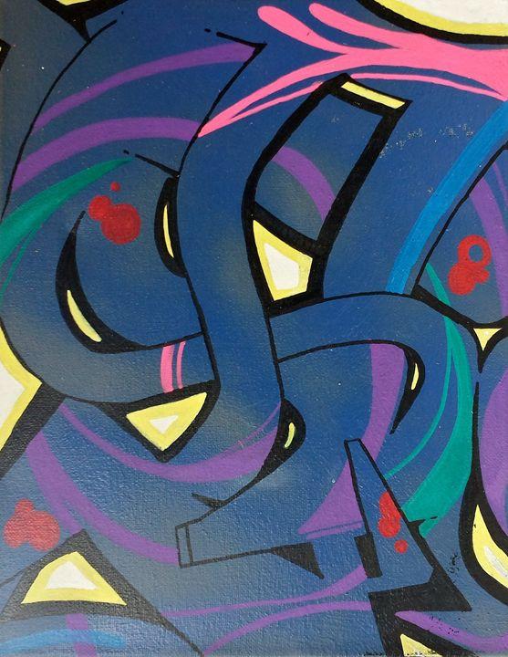 Abstract Graffiti - BS Dezignz