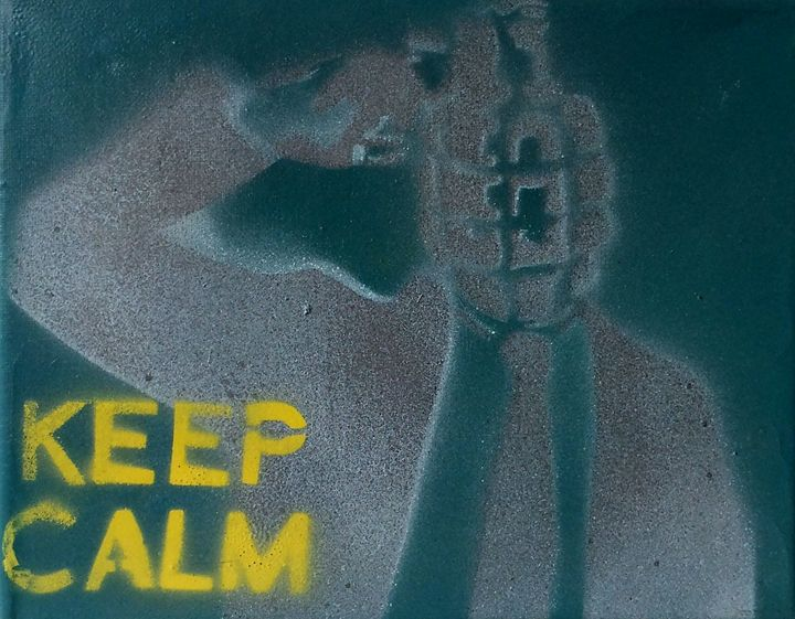 Just Keep Calm - BS Dezignz