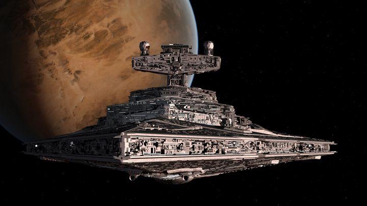 Star Destroyer - Silverdragoncr8