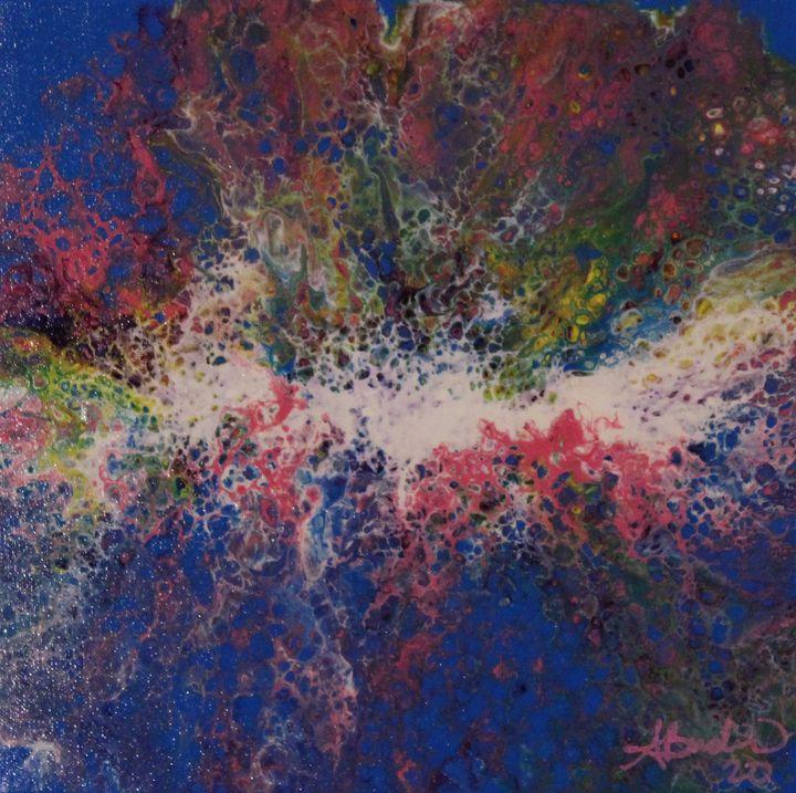 Sky Blue Pink - Angi's Artz