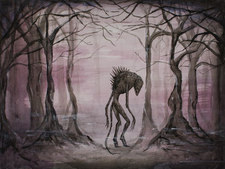 Monster in the woods - Elisa Gianola Fornari