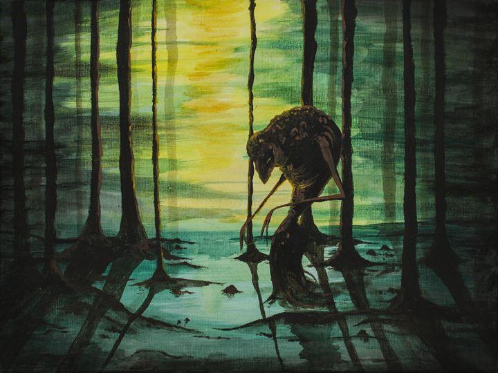Monster in the woods - Elisa Gianola Fornari