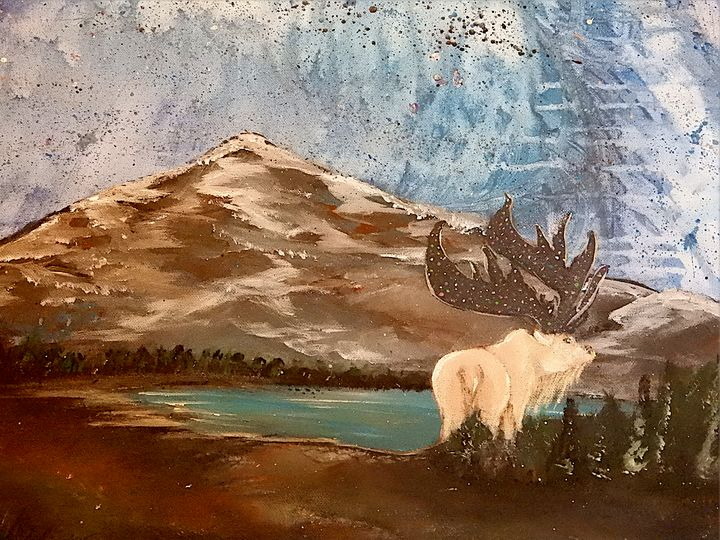 Mystic moose - Klinefelter Creations