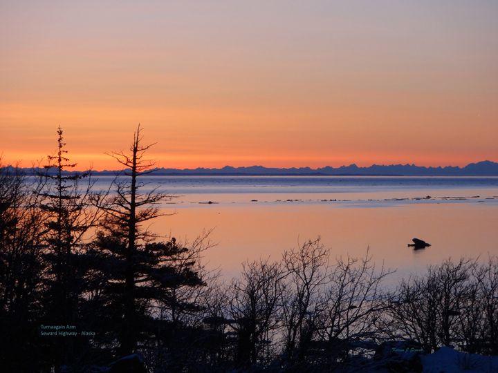 Turnagain Arm Sunset - Mystic Alaska