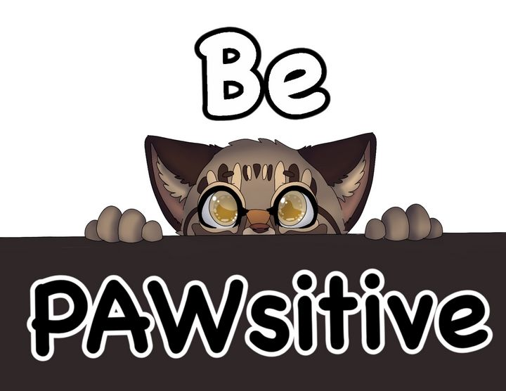 Be Pawsitive - Inu_diaries_wolf