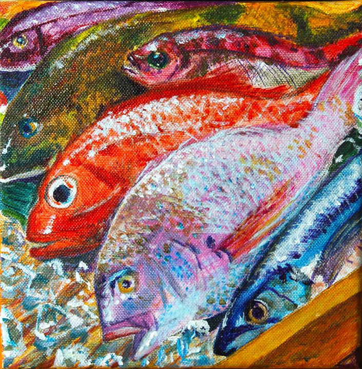Fish on Ice - Brandonorbanoskyart.com