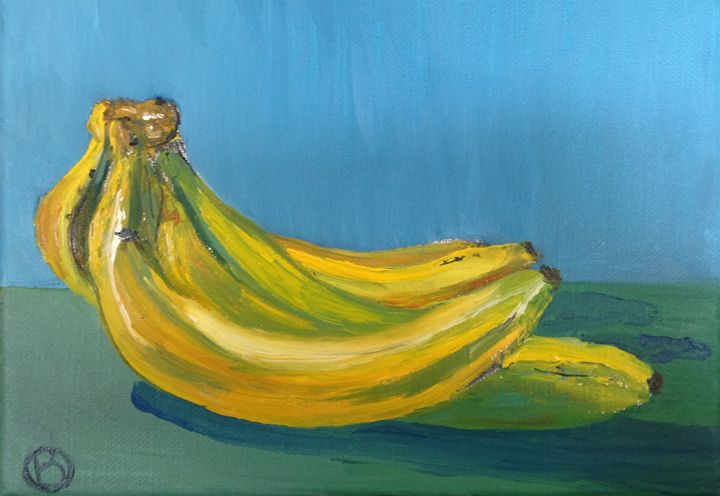 Bananas - Brandonorbanoskyart.com
