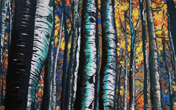 In The Aspens - Brandonorbanoskyart.com