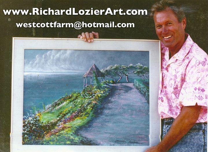 gazebo at full moon - Richard Alan Lozier