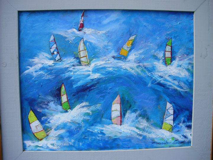 windsurfers - Richard Alan Lozier