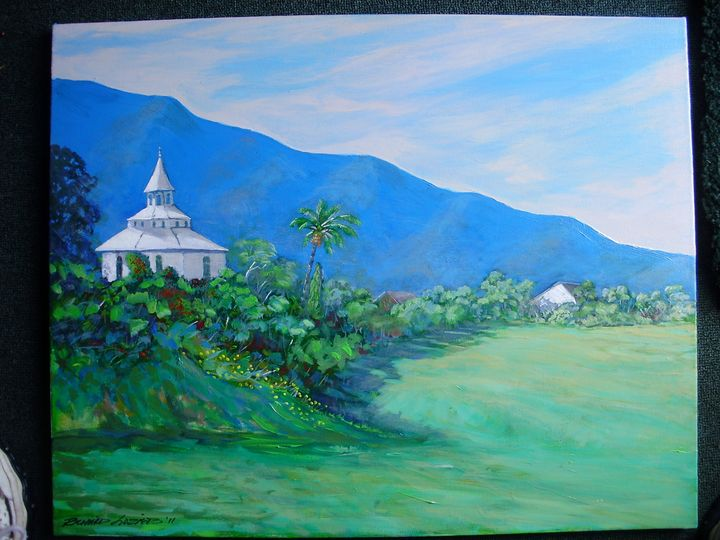 Holy Ghost Church,upcounrty Maui - Richard Alan Lozier