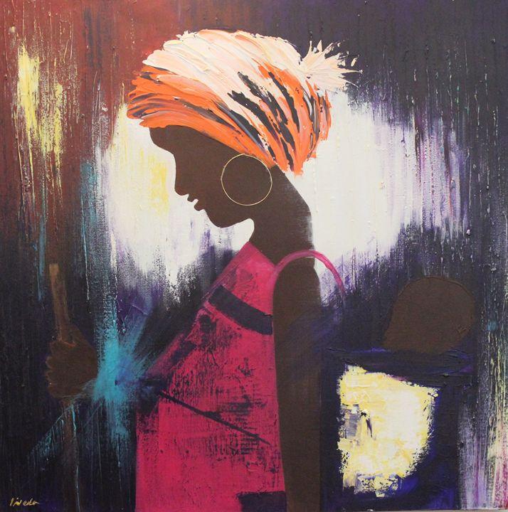 african girl - NEDA