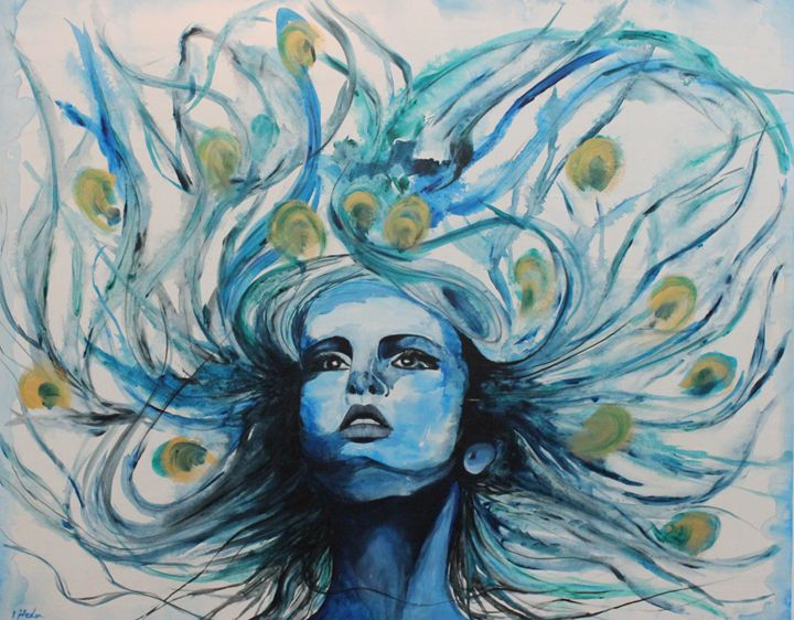 peacock girl - NEDA