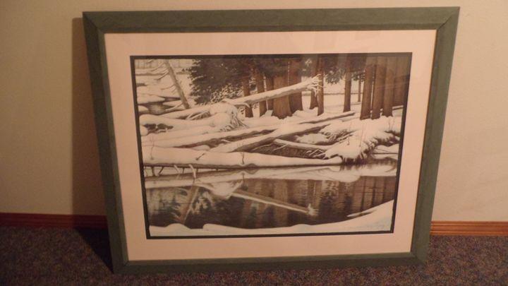 Cedars in Winter -  Tevingianella