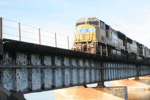 Train on Bridge - Cully's Girl
