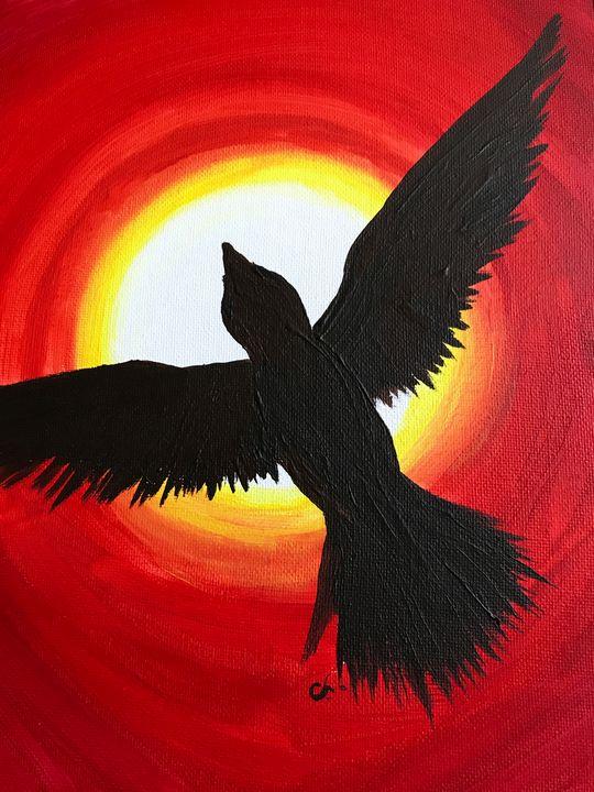 Black Bird Red Sky - Cully's Girl