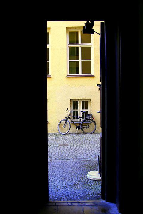 Through the open door - Adi Starr