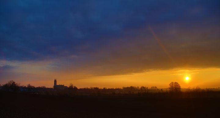 The church at dawn - Adi Starr