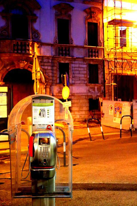 Italian Phone Booth - Adi Starr