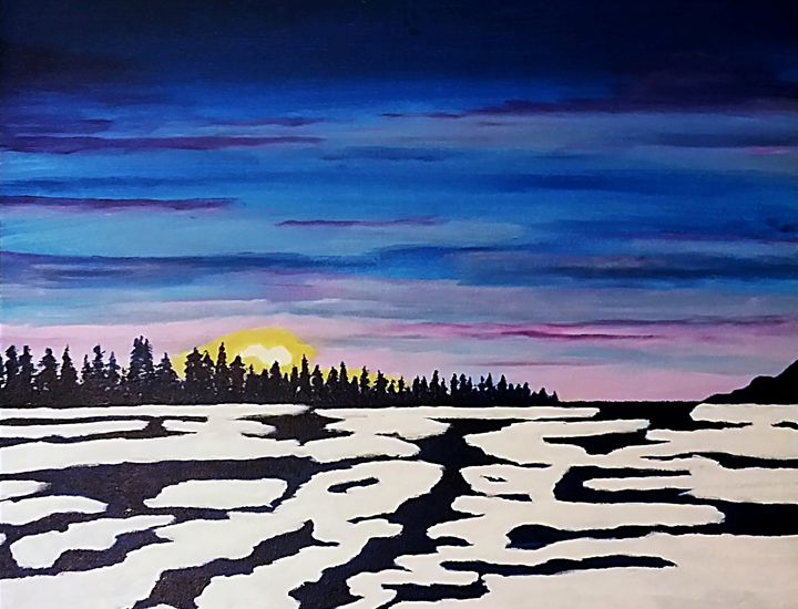 Winter Sunrise - Kenneth Regan