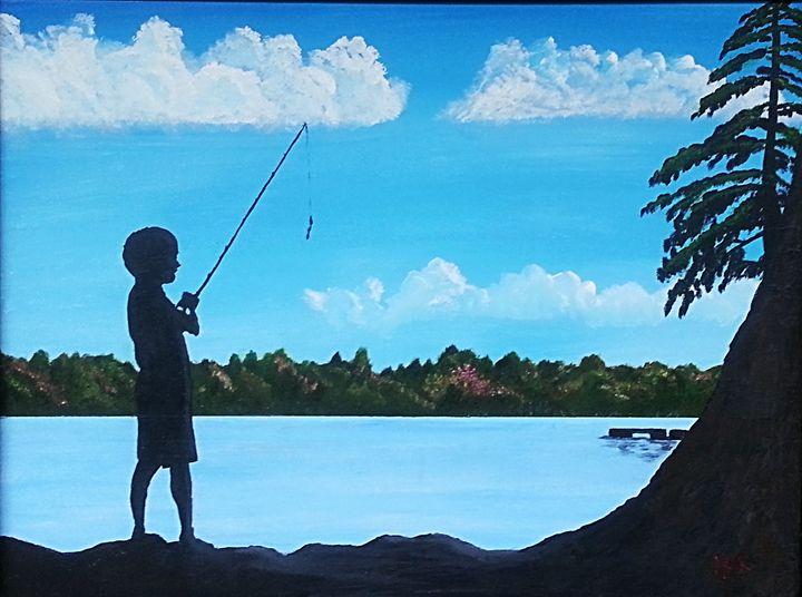 Wishin' We Were Fishin' - Kenneth Regan