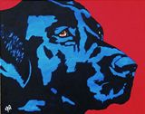 Blue Dog Original Painting