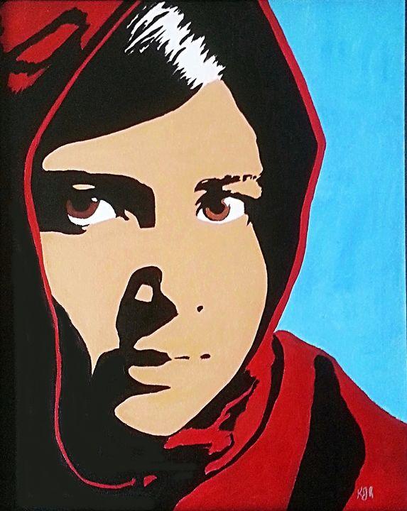 Malala Yousfzai - Kenneth Regan