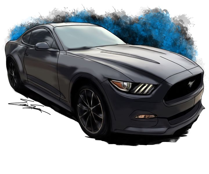 S550 - The Mustang Artist