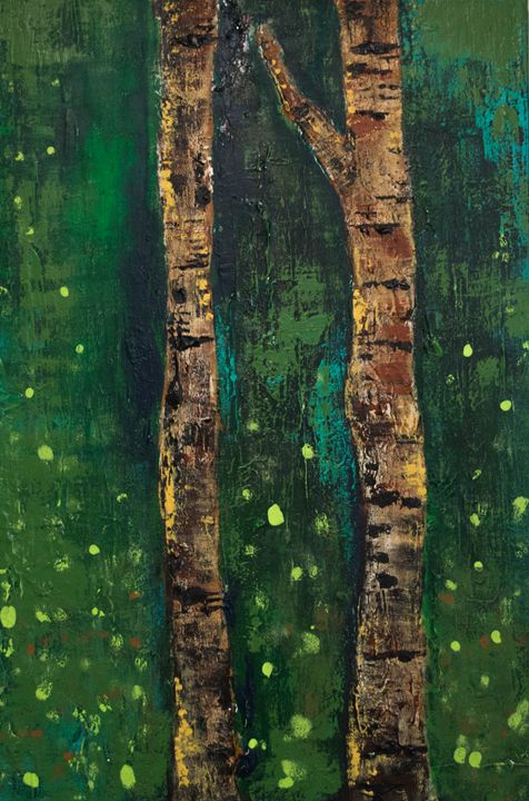 Green Aspens - J.Lynn