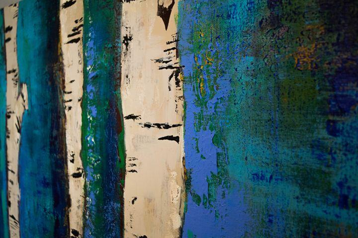Blue Aspens #4 - J.Lynn