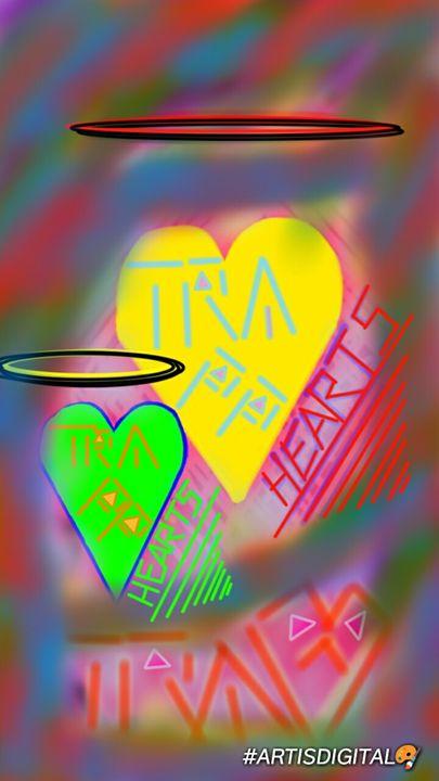 """Trapp hearts """"Blurr"""" - Art is digital"""