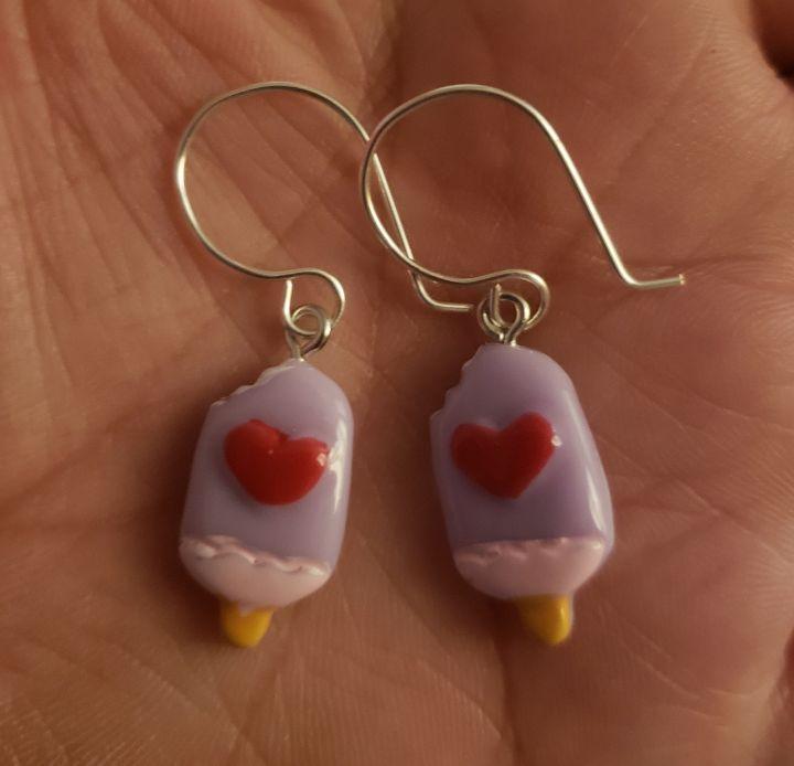 Ice cream bar earrings - Twisted Little Kara