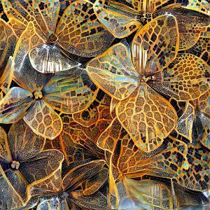 Hydrangea Mosaic