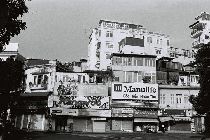 Early Hanoi street - KHẢI GALLERY \