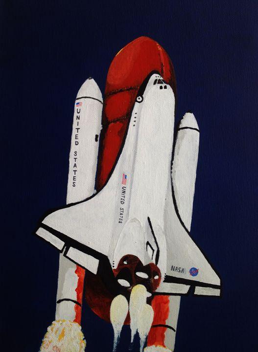Space Shuttle Launch - Fulcrum