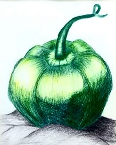 Pumpkin or Capcicum