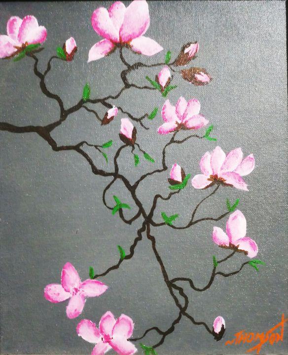 Cherry blossoms - Chilli Arts