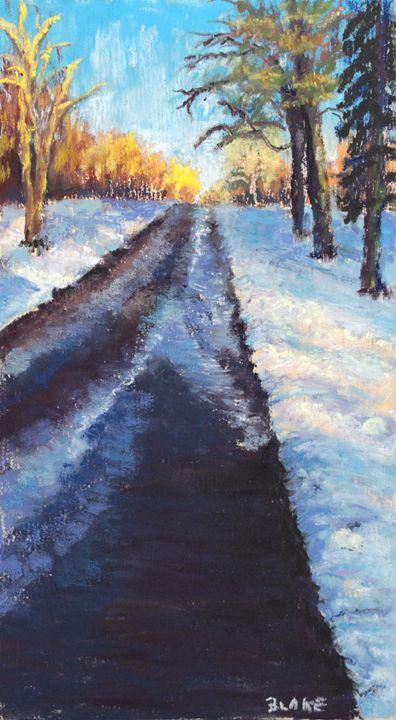 Copley Winter - Debra Blake Arts
