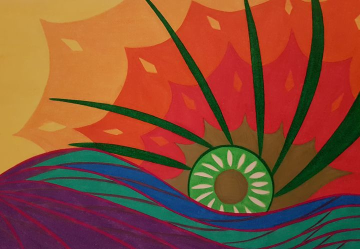 The Green Sun - BeeBeeRockZ69