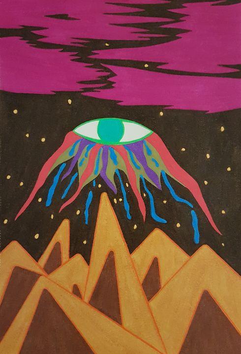 The Green Eye - BeeBeeRockZ69