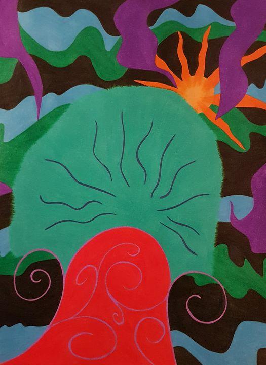 Mushroom Waves - BeeBeeRockZ69