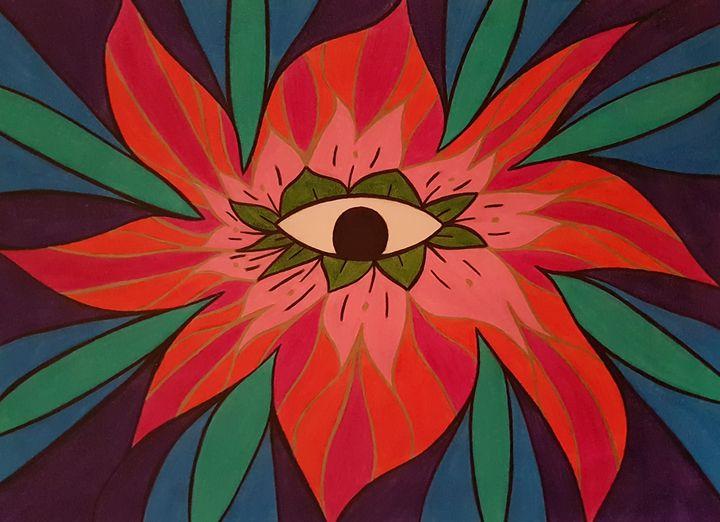 The Flowering Eye - BeeBeeRockZ69