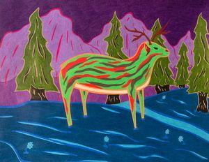 The Green Deer