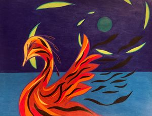 The Flame Swan