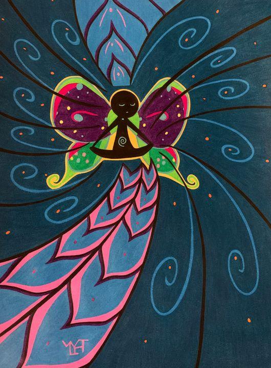 The Cosmic Butterfly - BeeBeeRockZ69