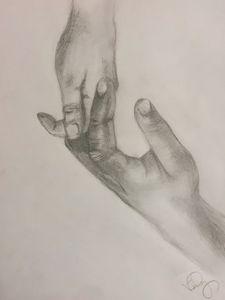 Biracial Hands